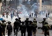 """زخمی شدن 18 فلسطینی در تظاهرات علیه """"معامله قرن"""""""