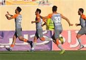 لیگ برتر فوتبال| شکست خانگی نساجی برابر سایپا در 45 دقیقه نخست