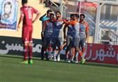 لیگ برتر فوتبال| پیروزی شیرین سایپا مقابل نساجی در قائمشهر