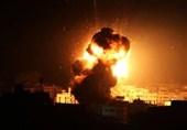 جنوبی غزہ پراسرائیلی جنگی طیاروں کی بمباری
