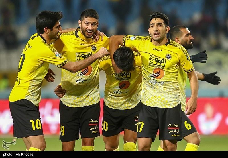 ترکیب تیم فوتبال سپاهان در شهرآورد اصفهان مشخص شد