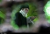 حضور رهبر معظم انقلاب اسلامی در مرقد امام خمینی(ره) وگلزار شهدا