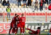 لیگ برتر فوتبال  برتری تراکتور مقابل سایپا در نیمه اول