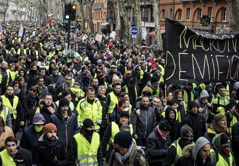 Yellow Vests Take Part In 64th Week Of Protests In France Video World News Tasnim News Agency