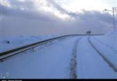 برف و باران در جادههای 3 استان