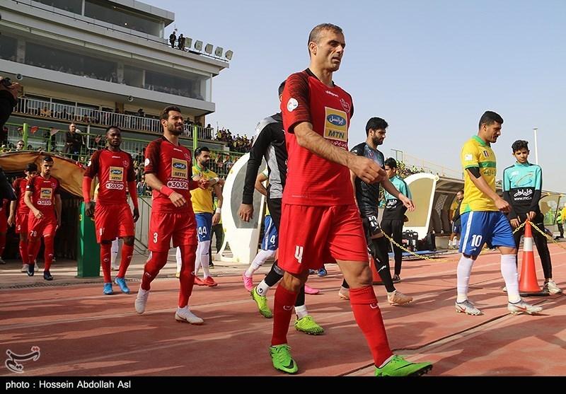 رونمایی از پیراهن پرسپولیس در دربی و لیگ قهرمانان آسیا + عکس