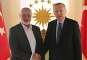 دیدار اسماعیل هنیه با اردوغان در ترکیه