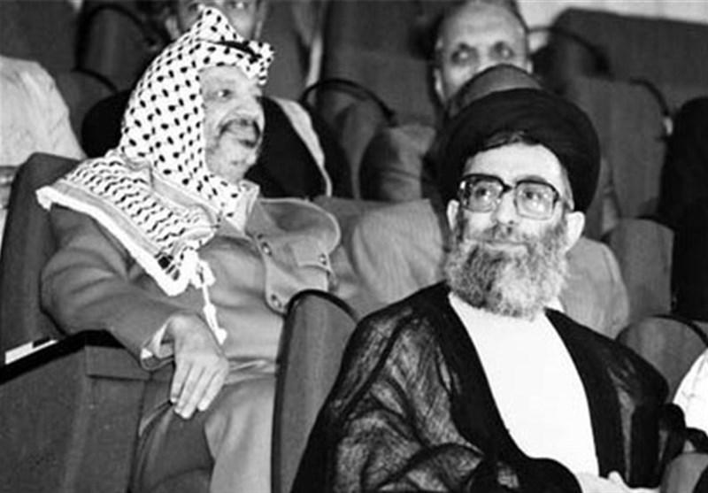 عرفات , امام خامنهای , کشور فلسطین ,