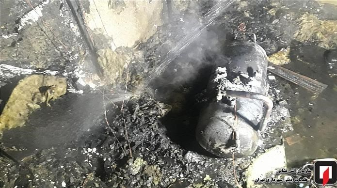 آتشنشانی , سازمان آتشنشانی تهران , آتشسوزی , اورژانس ,
