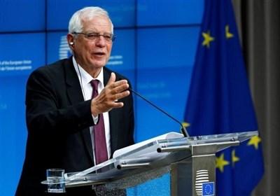 بورل: اتحادیه اروپا حاکمیت اسرائیل بر اراضی اشغالی در کرانه باختری را به رسمیت نمیشناسد