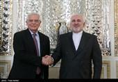 Iran's Zarif, Top EU Official Meet in Tehran