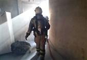 آتشسوزی در یک مجتمع تجاری + تصاویر