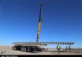 ریلگذاری خط آهن اردبیل پس از 15 سال به روایت تصویر