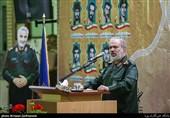 سخنرانی سردار علی فدوی جانشین فرمانده کل سپاه پاسداران در یادواره شهدای مسجد جامع ازگل