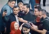 فلش مابی با صدای غلامرضا صنعتگر در فرودگاه امام خمینی(ره)