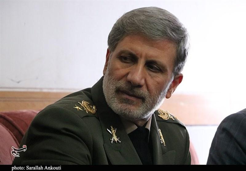 پیام تبریک وزیر دفاع به قالیباف