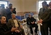 دیدار صمیمی وزیر دفاع با جانبازان قطعه نخاعی در سیرجان / دستور ویژه برای رسیدگی فوری به جانبازان +تصاویر