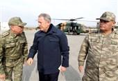 اظهارات وزیر دفاع ترکیه در خصوص پاسخ نظامی حمله به کاروان ترک در ادلب