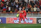 لیگ برتر فوتبال| تساوی نساجی و پارس جنوبی و برتری فولاد مقابل پیکان در نیمه اول