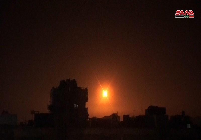 حملات هوایی رژیم صهیونیستی به جنوب سوریه و حومه دمشق دفع شد