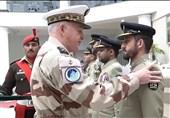 حضور نظامیان ارتش پاکستان در مانور نظامی قفقاز در روسیه