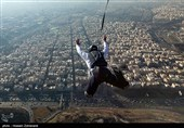 سقوط مرگبار چترباز در ارتفاعات وردیج