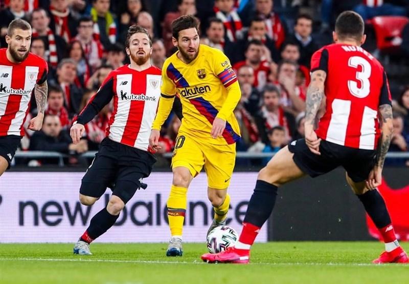 جام حذفی اسپانیا| شگفتی تکمیل شد؛ پس از رئال مادرید، بارسلونا هم با جام وداع کرد
