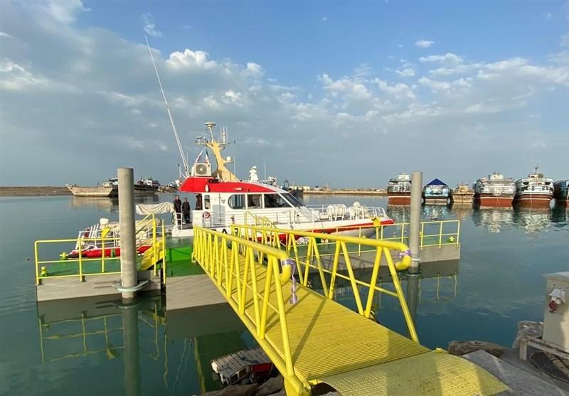 پهلوگیری انواع شناورهای تجاری، صیادی، مسافری در جزیره ابوموسی امکانپذیر شد