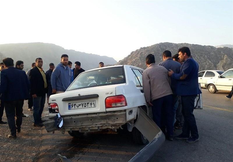 خبرنگار تسنیم در تصادف محور خرمآباد- پلدختر مصدوم شد