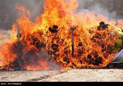 امحا 13 تن مواد مخدر در شیراز
