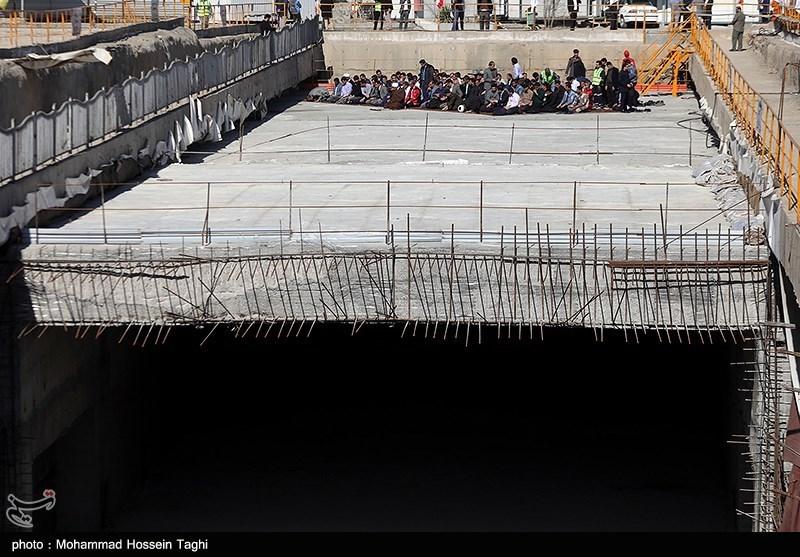 پیشرفت 35 درصدی تونل جمهوری قم