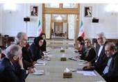 کبیر مساعدی وزیر الخارجیة الإیرانی یستقبل المبعوث الأممی إلى سوریا