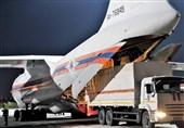 ارسال یک محموله کمکهای پزشکی از روسیه به هند