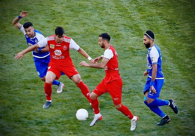 ساعت فوتبال دربی پرسپولیس استقلال