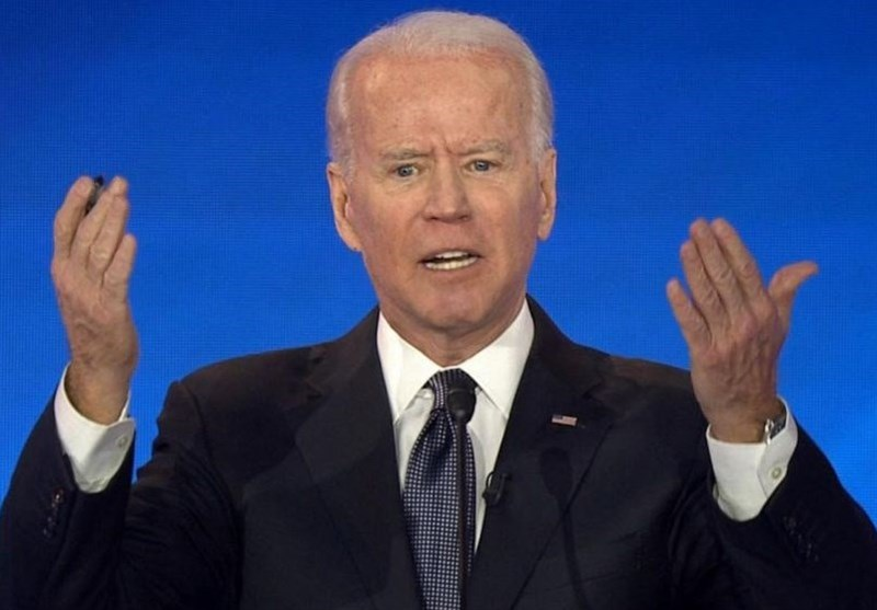 Biden in Vegas Takes on Sanders' Gun Votes in Fiery Speech