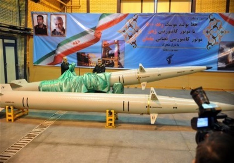 IRGC Unveils New Missile with Composite Engine (+Video)