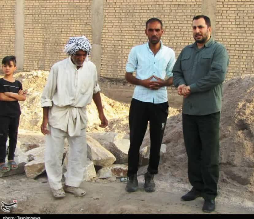 خشت همدلی گروههای جهادی در مناطق سیلزده لرستان و خوزستان 6