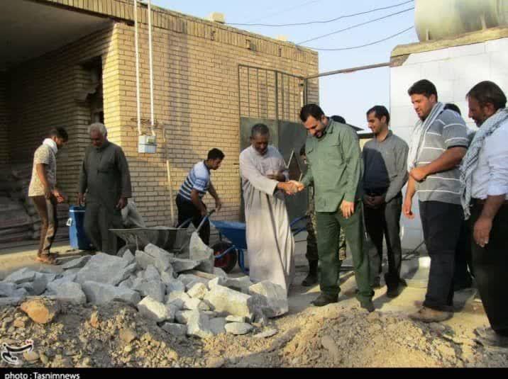 خشت همدلی گروههای جهادی در مناطق سیلزده لرستان و خوزستان 3