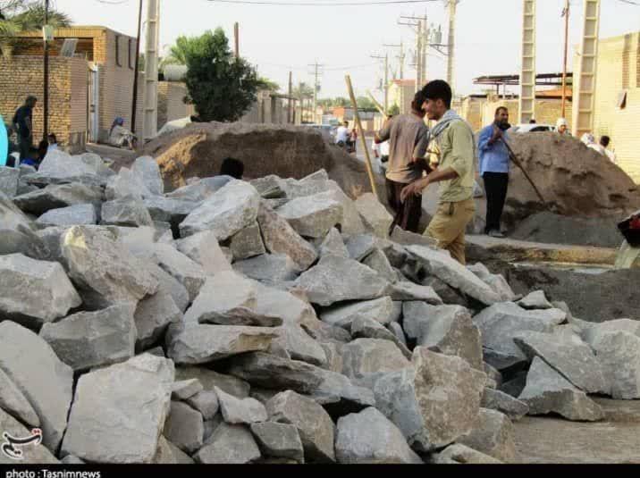 خشت همدلی گروههای جهادی در مناطق سیلزده لرستان و خوزستان 2