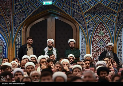 همایش اربعین شهادت سپهبد شهید سلیمانی و شهید ابومهدی مهندس در قم