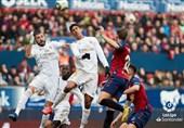 لالیگا  رئال مادرید با پیروزی بر اوساسونا صدرنشینیاش را تثبیت کرد