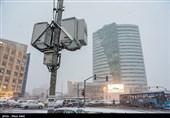 بارش برف پاییزی آذربایجان شرقی را سفیدپوش کرد + فیلم