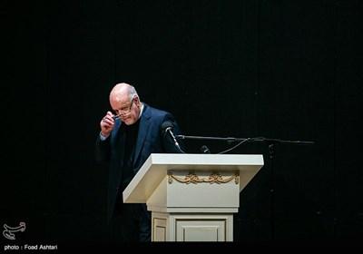 حضور بیژن زنگنه وزیر نفت در مراسم امضای تفاهمنامه بین وزارت نفت و وزارت صمت