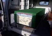 آیین تشییع پیکر شهید مدافع حرم «کریمی» در مهدیشهر برگزار شد