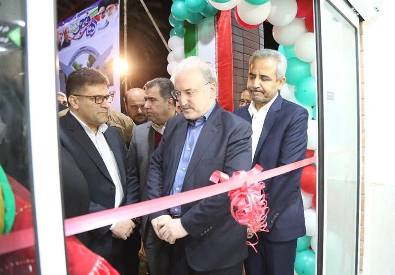 افتتاح پروژه بهداشتی و درمانی استان بوشهر با حضور وزیر بهداشت