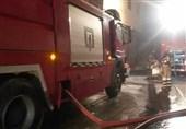تخریب ساختمان 3 طبقه به دنبال آتشسوزی گسترده + تصاویر