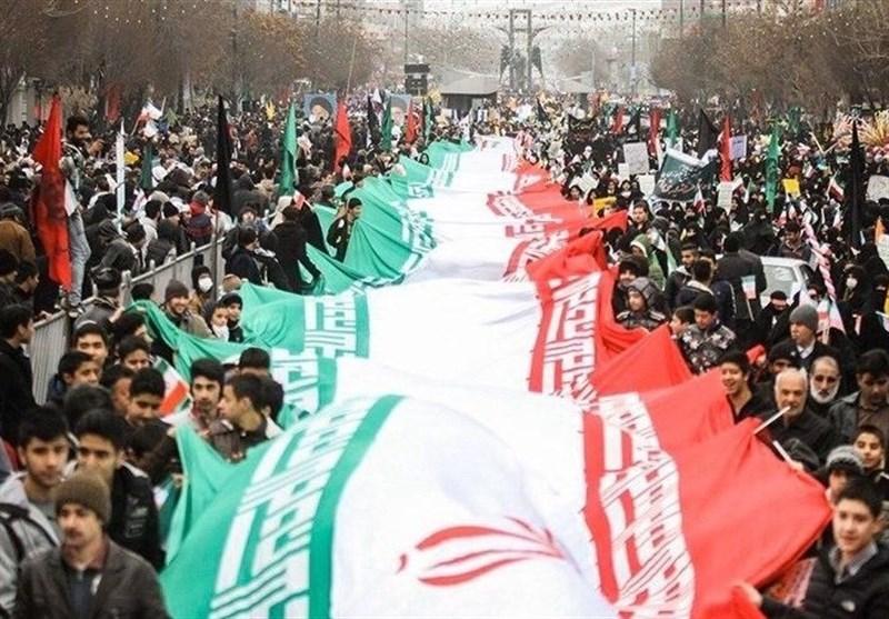 راهپیمایی یوم الله 22 بهمن در استان لرستان آغاز شد + تصاویر