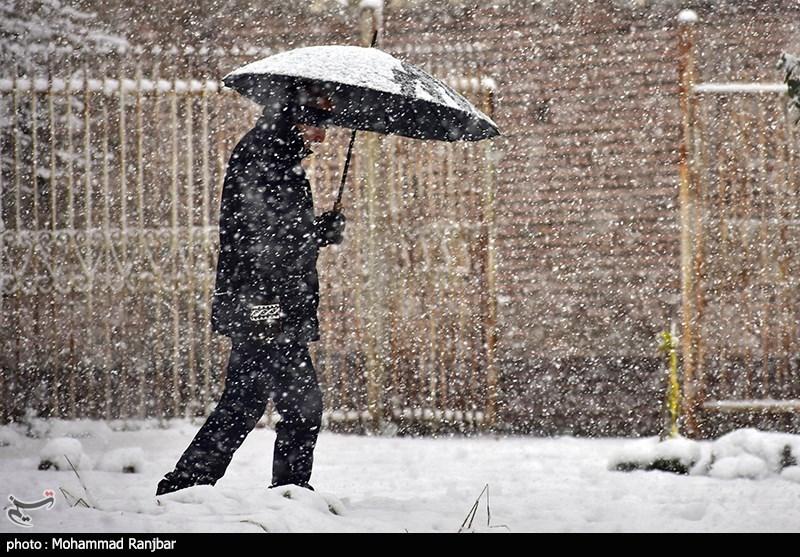 هواشناسی ایران ۹۹/۱۰/۳۰| هشدار کاهش ۲۰ درجهای دما/ برف و باران در ۱۱ استان,