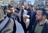 حضور آیت الله جنتی در راهپیمایی 22 بهمن تهران+ عکس