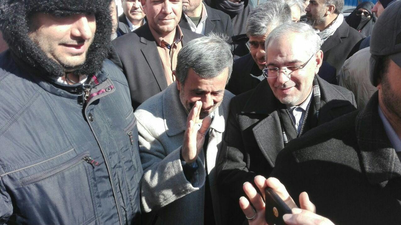 محمود احمدینژاد , راهپیمایی22بهمن , دهه فجر انقلاب اسلامی ,